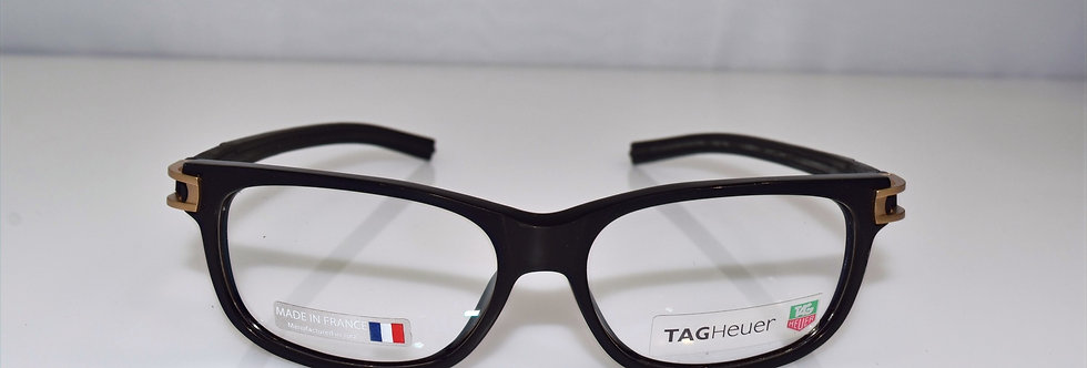 Tag Heuer Authentic Track S Black Gold TH7601 008 55-17-145 Eyeglasses