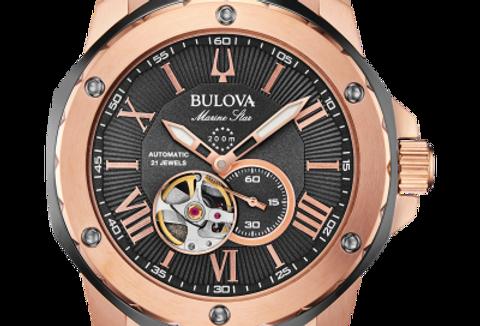 Bulova  Marine Star Gray RG Automatic 98A228 $595 Watch