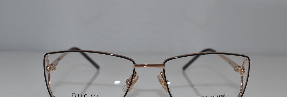 Gucci Brown Rose Gold Optical 53-16-130 GG4212 5N1 Eyeglasses