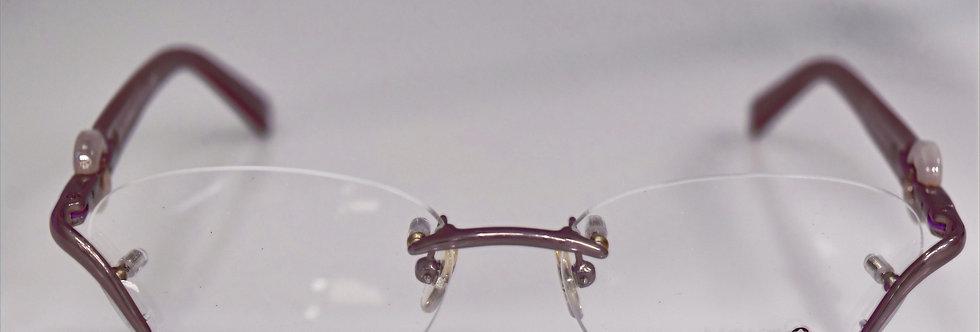 Mont Blanc Women's Pearl Pink Optical MB0441 078 53-16-135 Eyeglasses