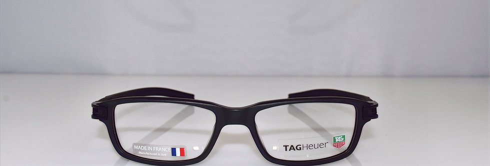 Tag Heuer Authentic Track S Black TH7602 007 52-17-145 Eyeglasses