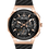 Thumbnail: Bulova Curv Black Rubber Rose Gold IP SS Chronograph 98A185 $975 Watch