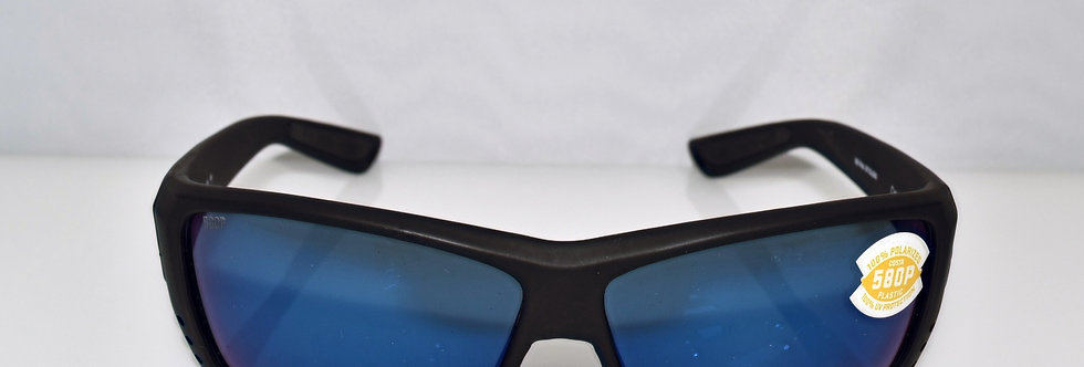 Costa Del Mar Cat Cay Black 580P Polarized AT01 OBMP Sunglasses