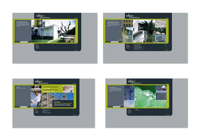 disseny de web per despatx d'arquitectura