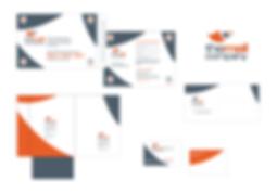 the mail company creación de imagen y apliación a diferenes soportes de comunicación