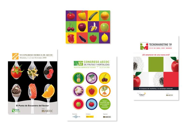 eventos de aecoc para HORECA, tecnomarketing y frutas y hortalizas