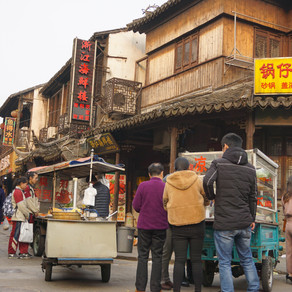 Fengjing Ancient town - the real life!