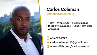 Carlos Coleman Life Insurance Business C