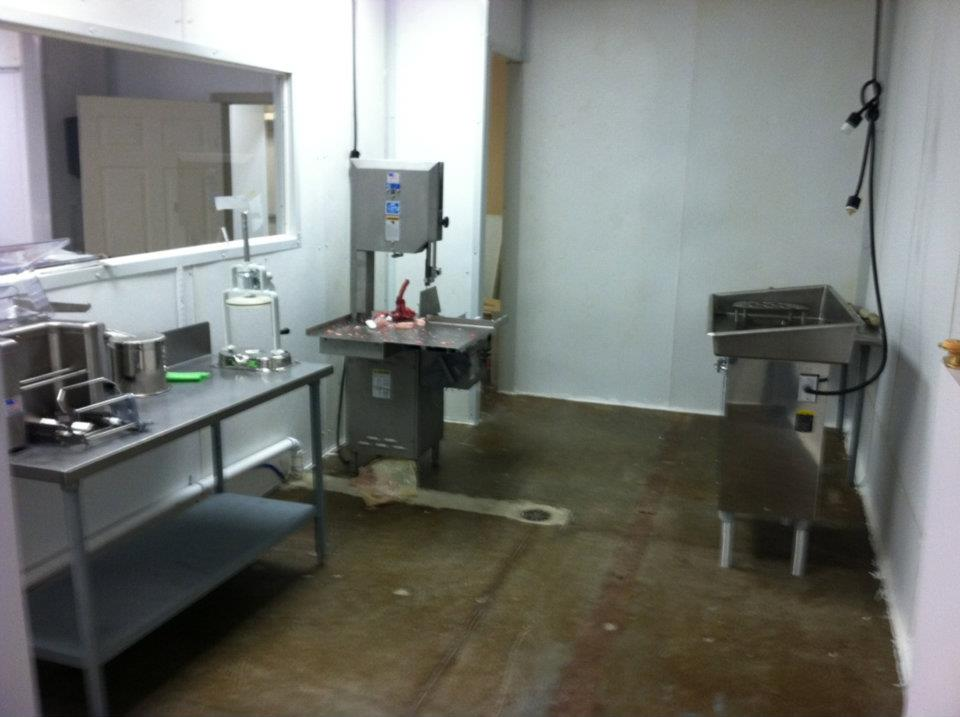 Meat processing Area