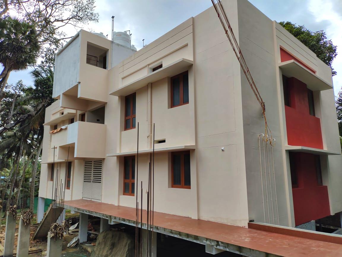 Appartment 1800sqft carpet area .  2bhk appartment 950 sqft .total 4appartments thucklay, keralapura