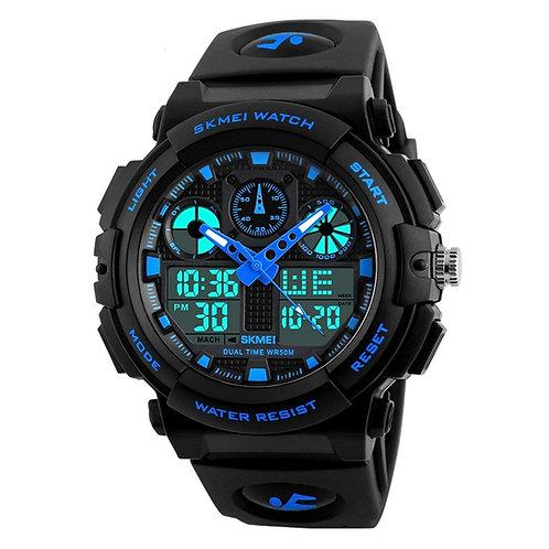 Men's Watch (Black Colored Strap) SKMEI