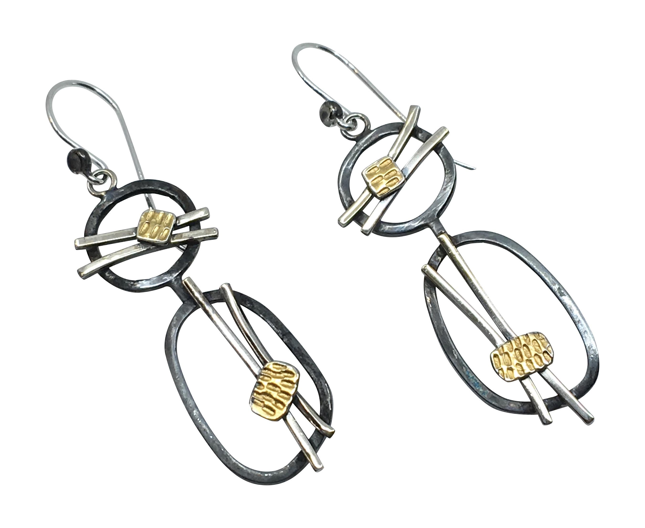 Two Rings Earrings