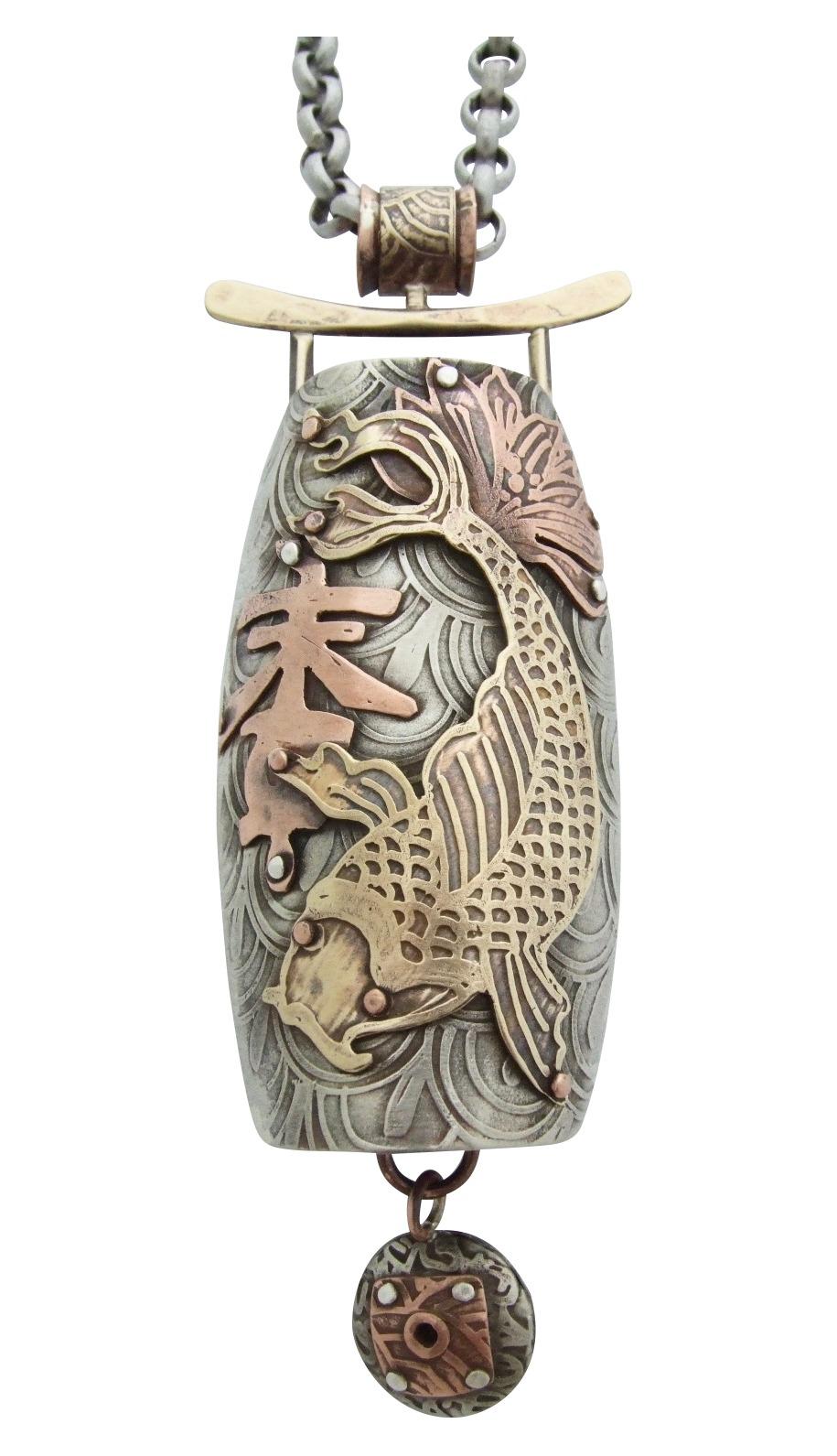 Bonsho Peace Bell Pendant
