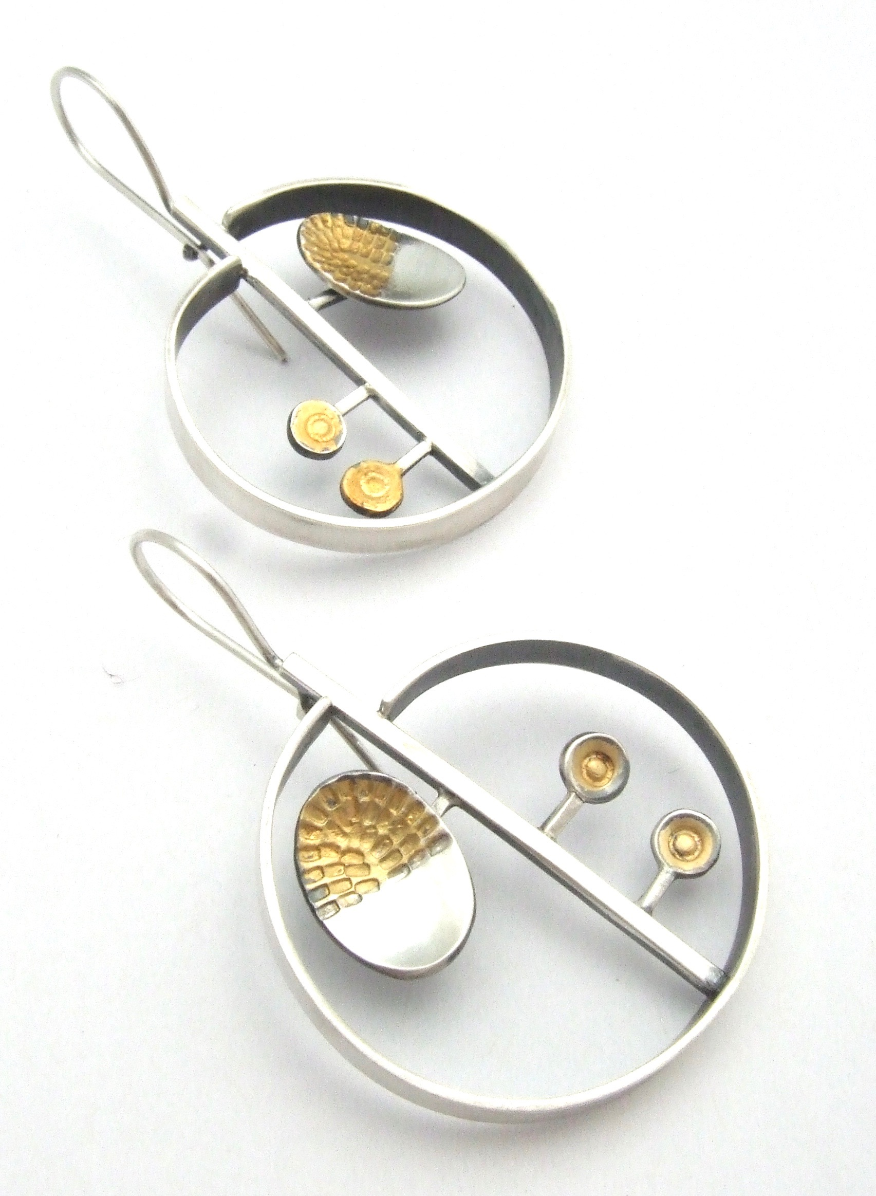 Atomic Garden Earrings