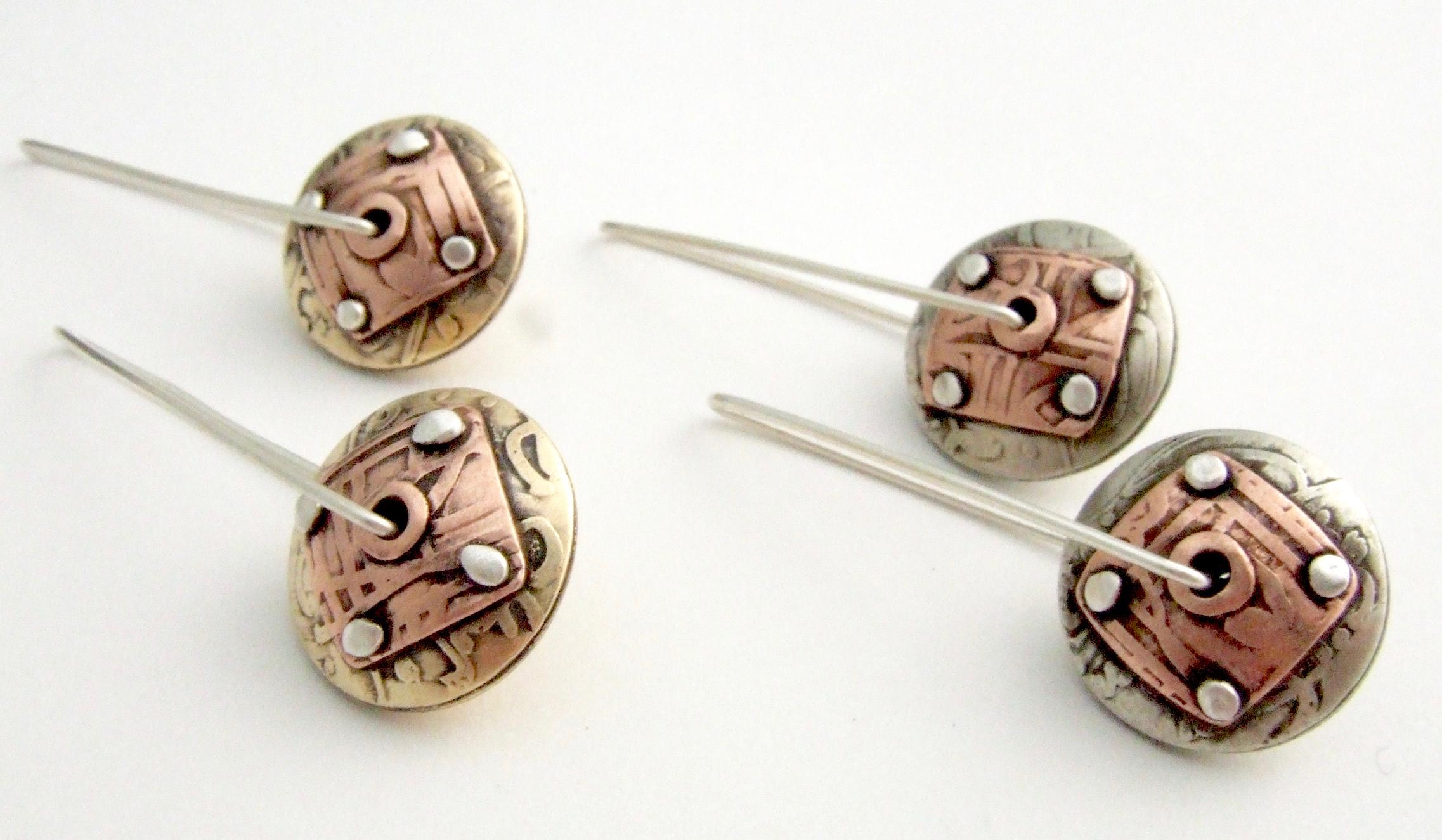 Small Sanskrit Earrings