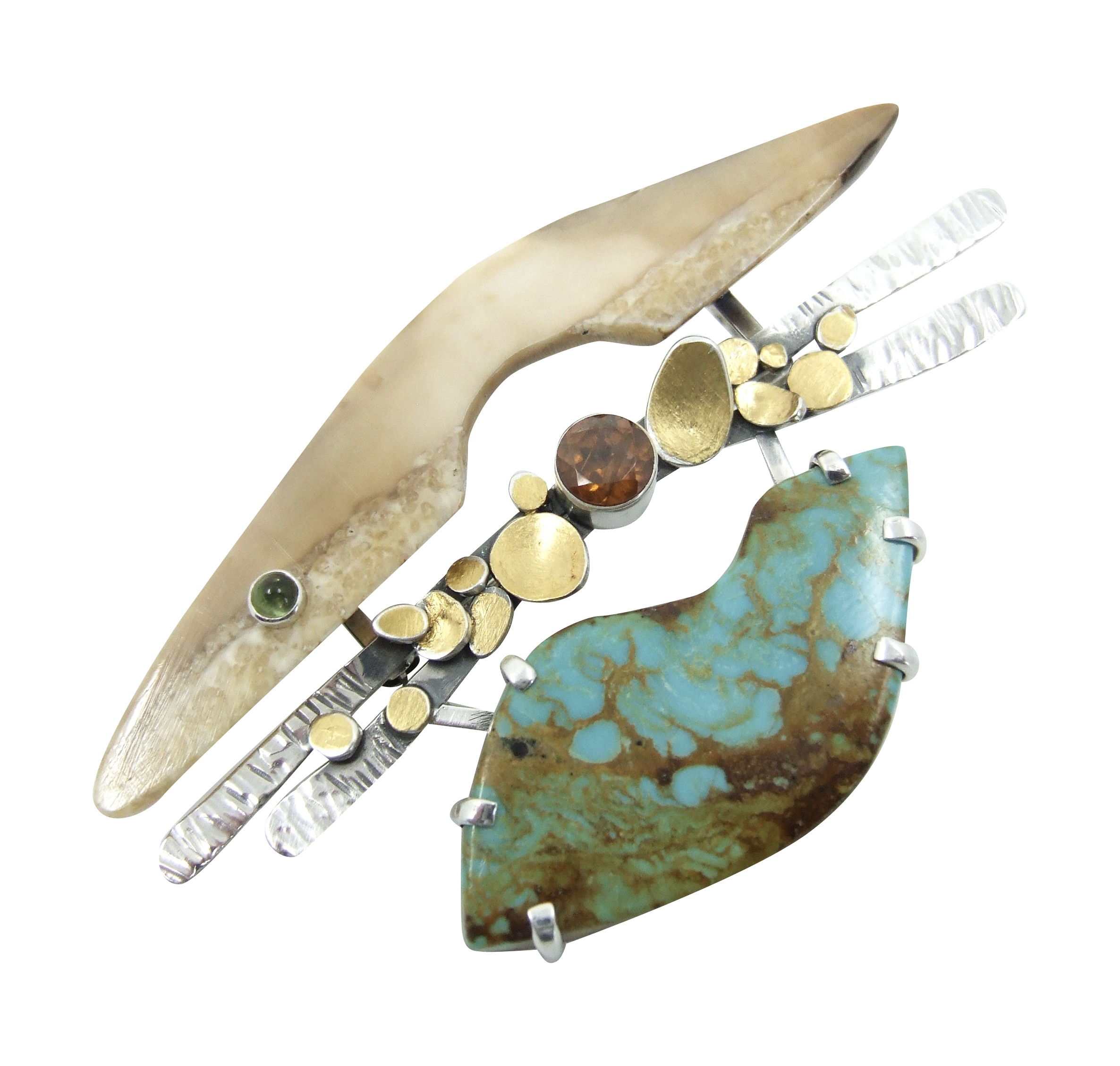 Arroyo Brooch