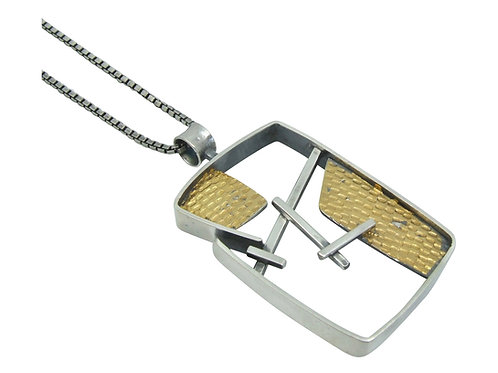 Rectangle Juxtapose Pendant