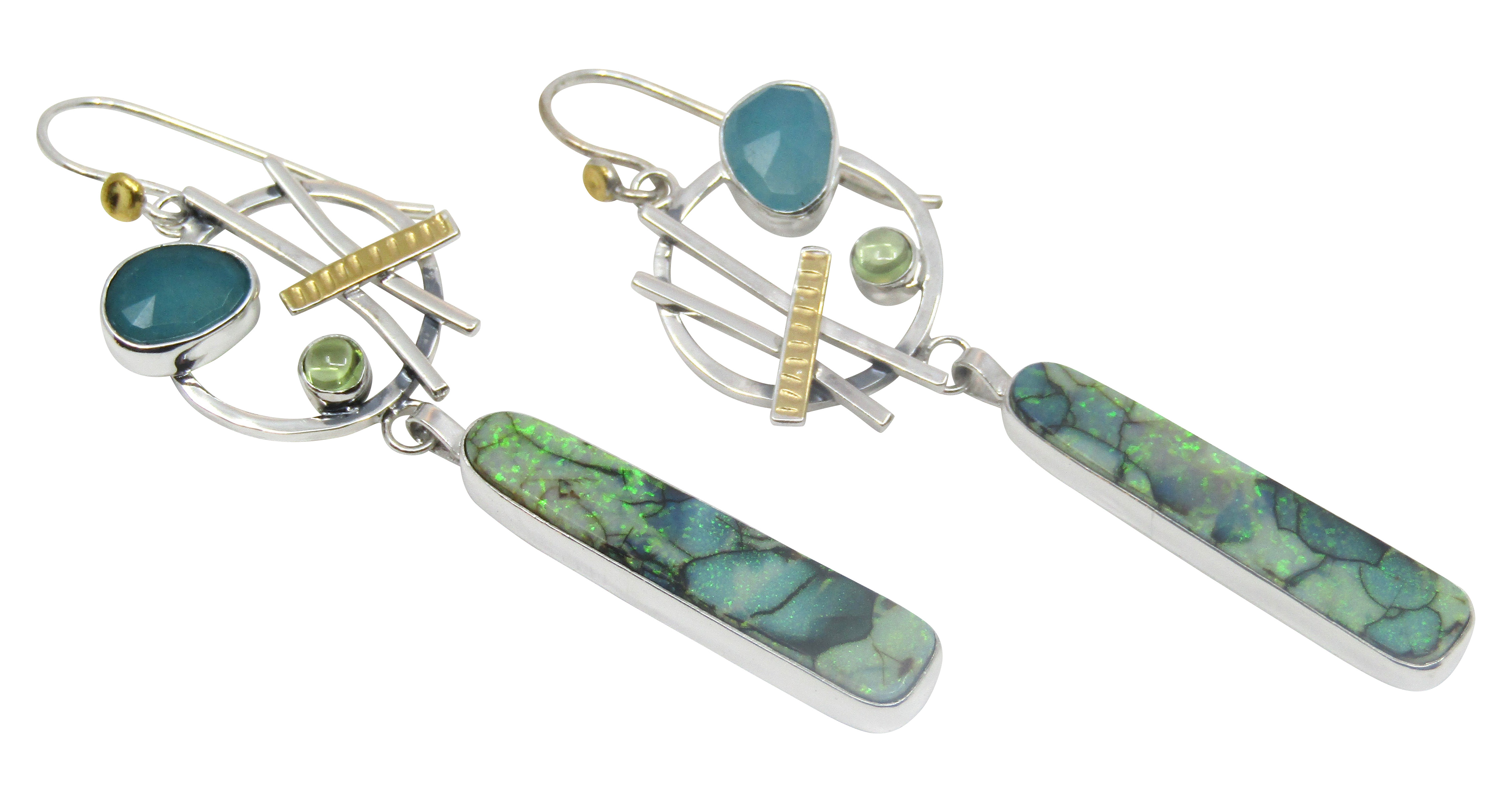 Sterling Opal™ Earrings