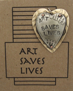 Art Saves Lives Pendant