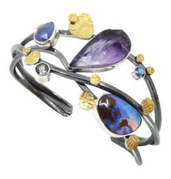 Amethyst & Opal Bracelet