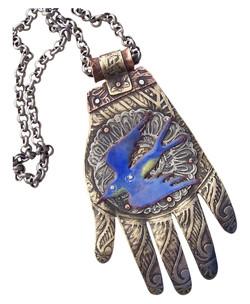 Bird in the Hand Pendant