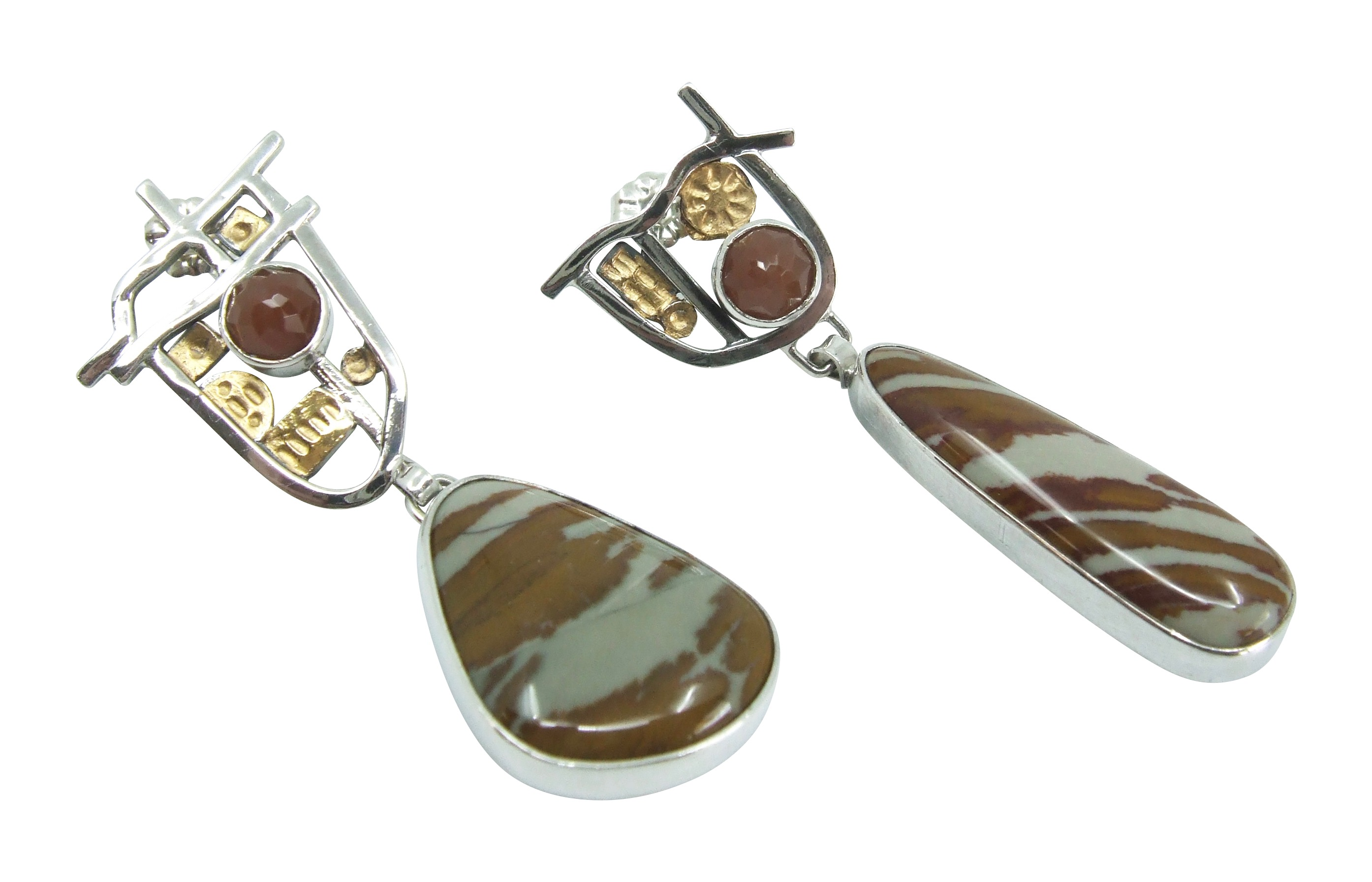 Owyhee Jasper Earrings