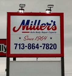 MILLER'S AUTO BODY REPAIR