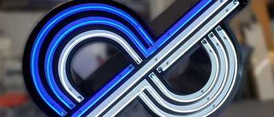 Ampersand or dP Neon Sign