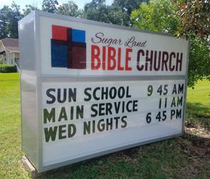 SUGAR LAND BIBLE CHURCH - Sugar Land, TX