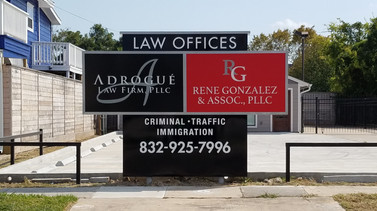 ANDROGUE LAW FIRM and RENE GONZALEZ  & ASSOC.