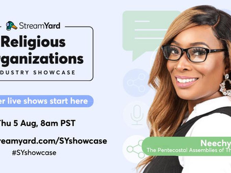 UNBELIEVABLE! I'm On The StreamYard Industry Showcase!