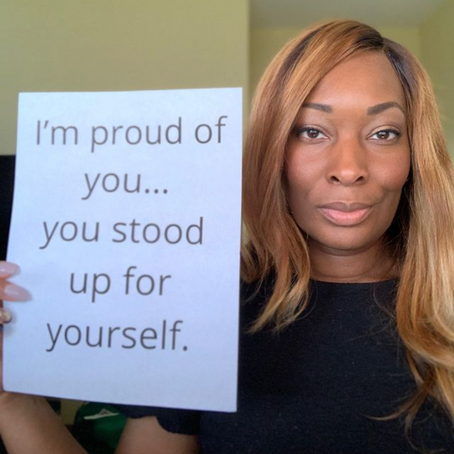I'm Proud Of You - You Stood Up For Yourself
