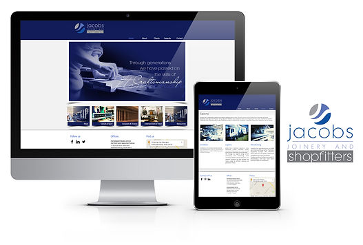 Jacobs Joinery and Shopfitters, web design