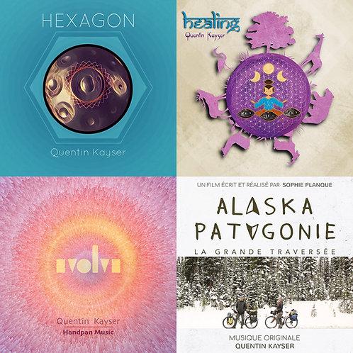 Discographie complète numérique - 5 Albums