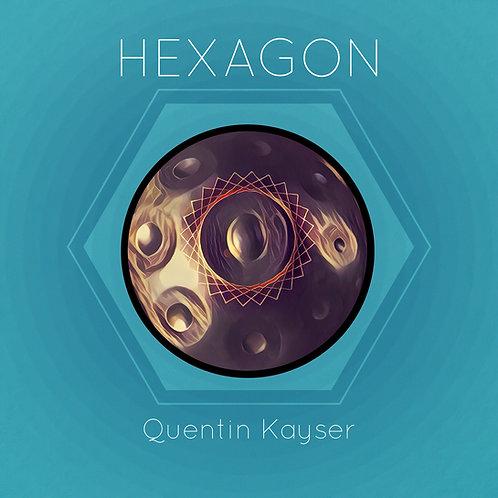 """Album physique """"HEXAGON"""""""