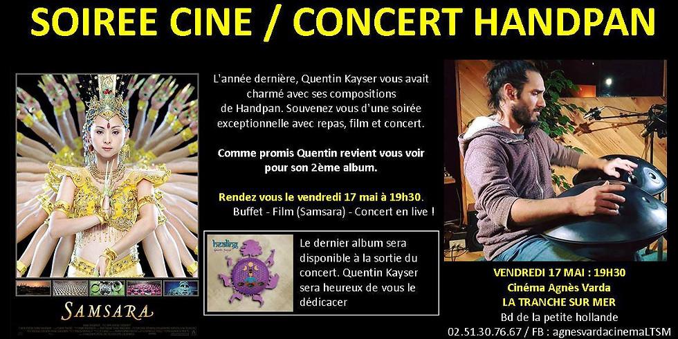 Soirée Ciné Concert Handpan [La Tranche sur mer, Vendée]