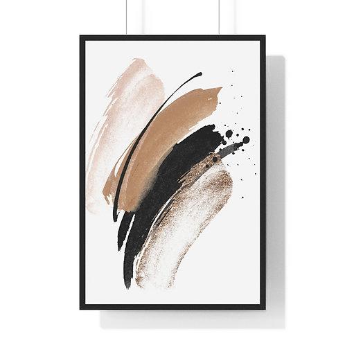 Neutral Elegance Framed Art Print