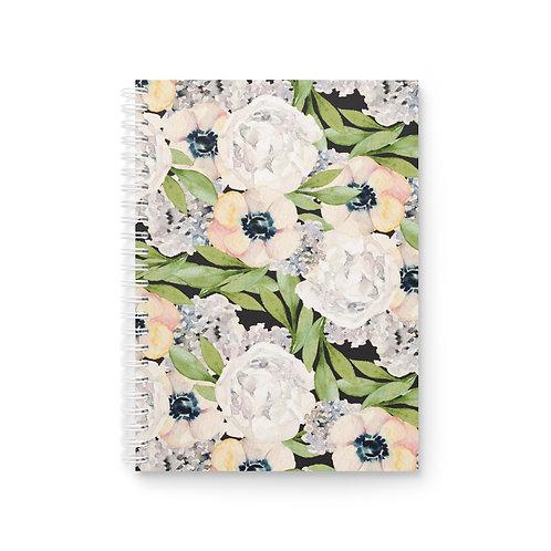 Garden Florals Spiral Notebook