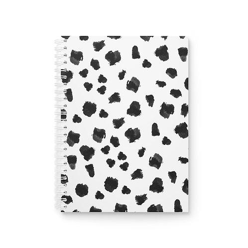 Chic Confetti Spiral Notebook