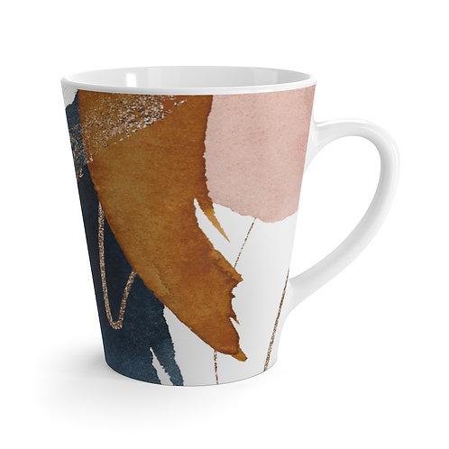 Abstract Desert Sunset Latte Mug