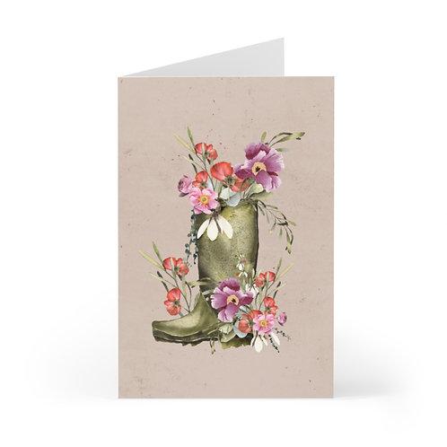 Garden Rain Greeting Cards (7 pcs)