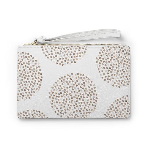 Shimmer Dots Clutch Bag