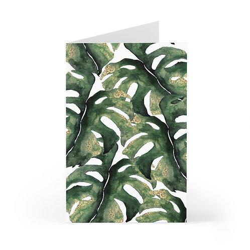 Amazon Leaves Greeting Cards (7 pcs)
