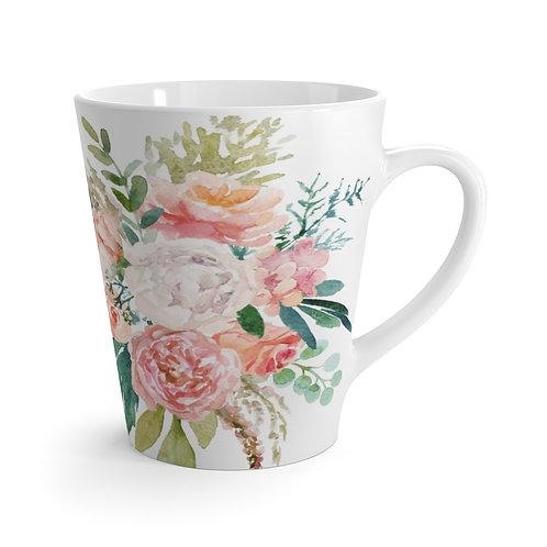 Spring Florals Latte Mug