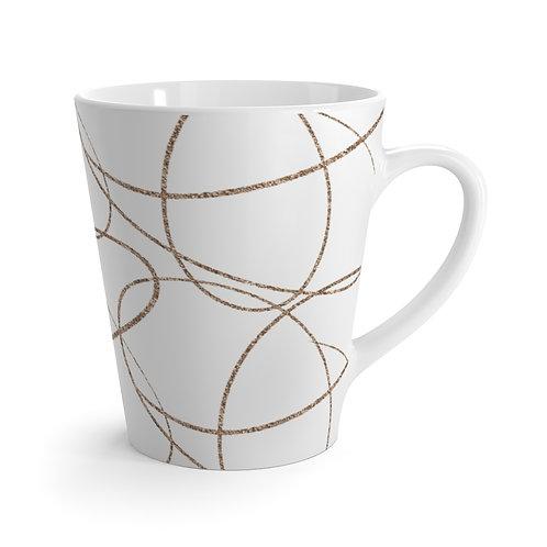 Simple Swirls Latte Mug