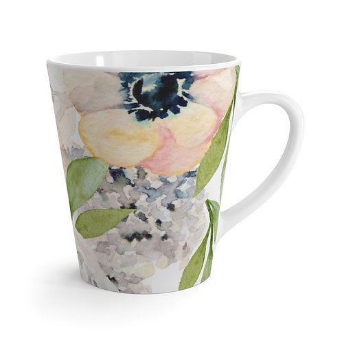 Garden Florals Latte Mug