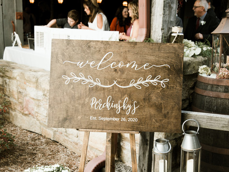 Simply Perfect Barn Wedding Details