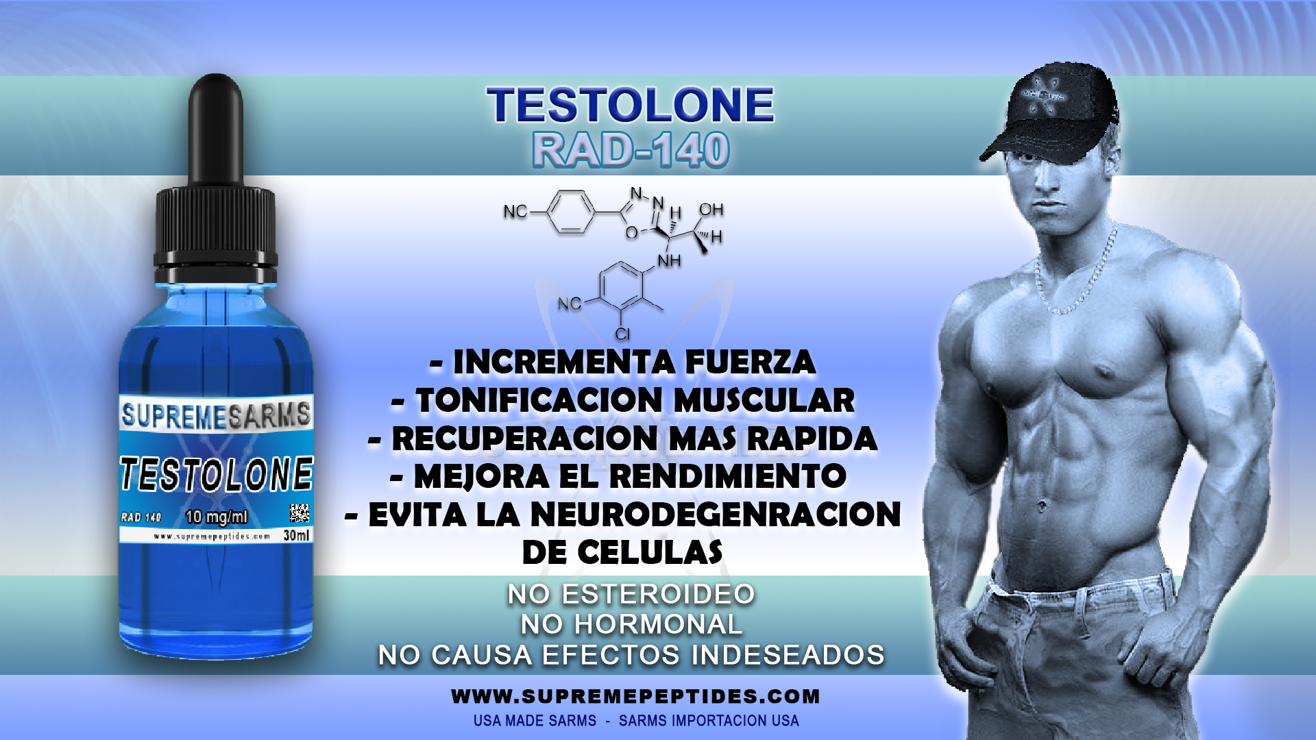 TESTOLONE - RAD 140 (10mg/ml)