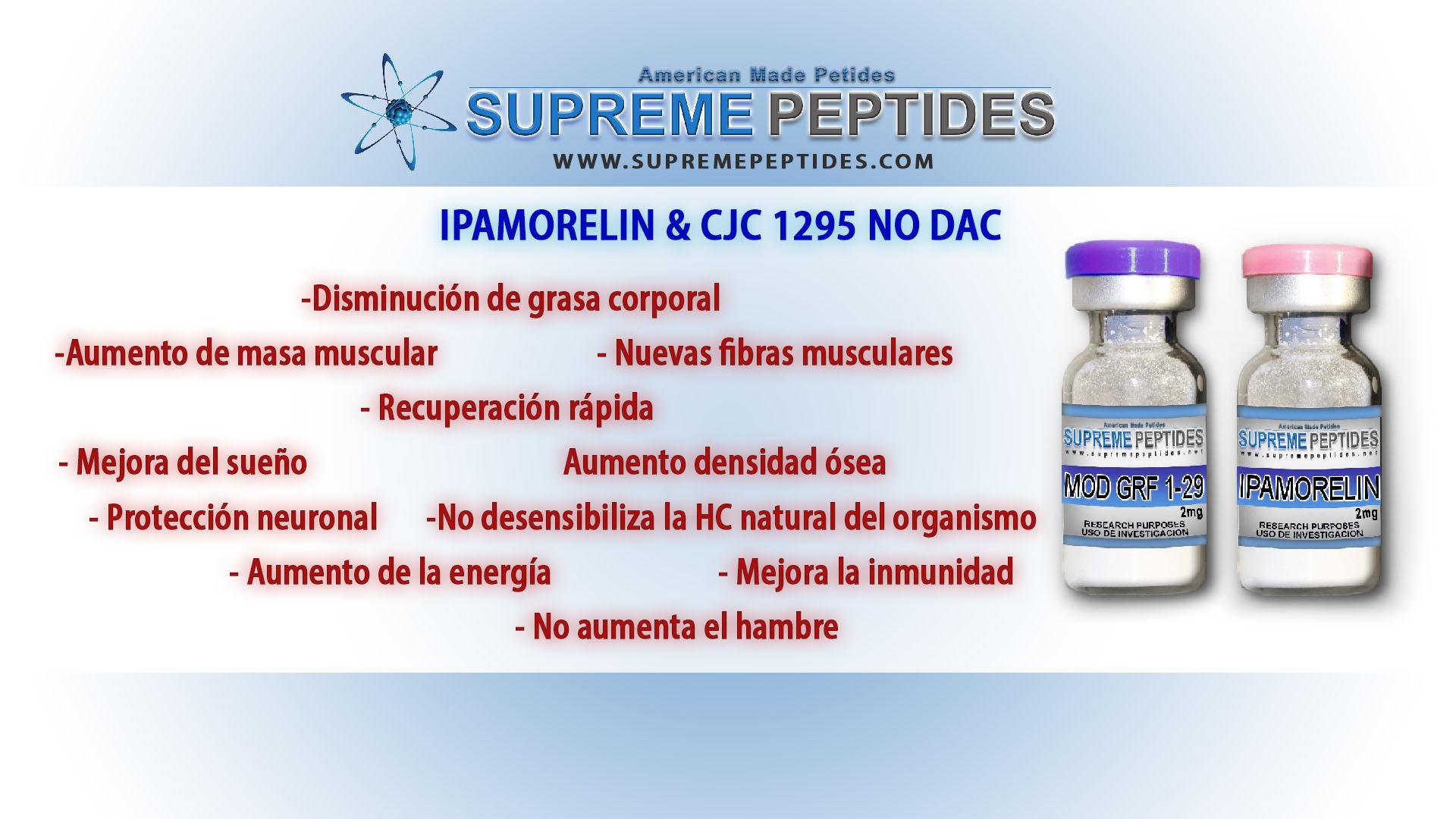 stack ipamorelin con cjc1295