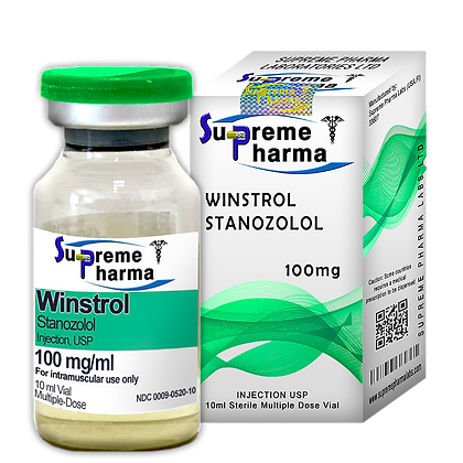 WINSTROL STANOZOLOL 50mg/ml (WATER BASED)